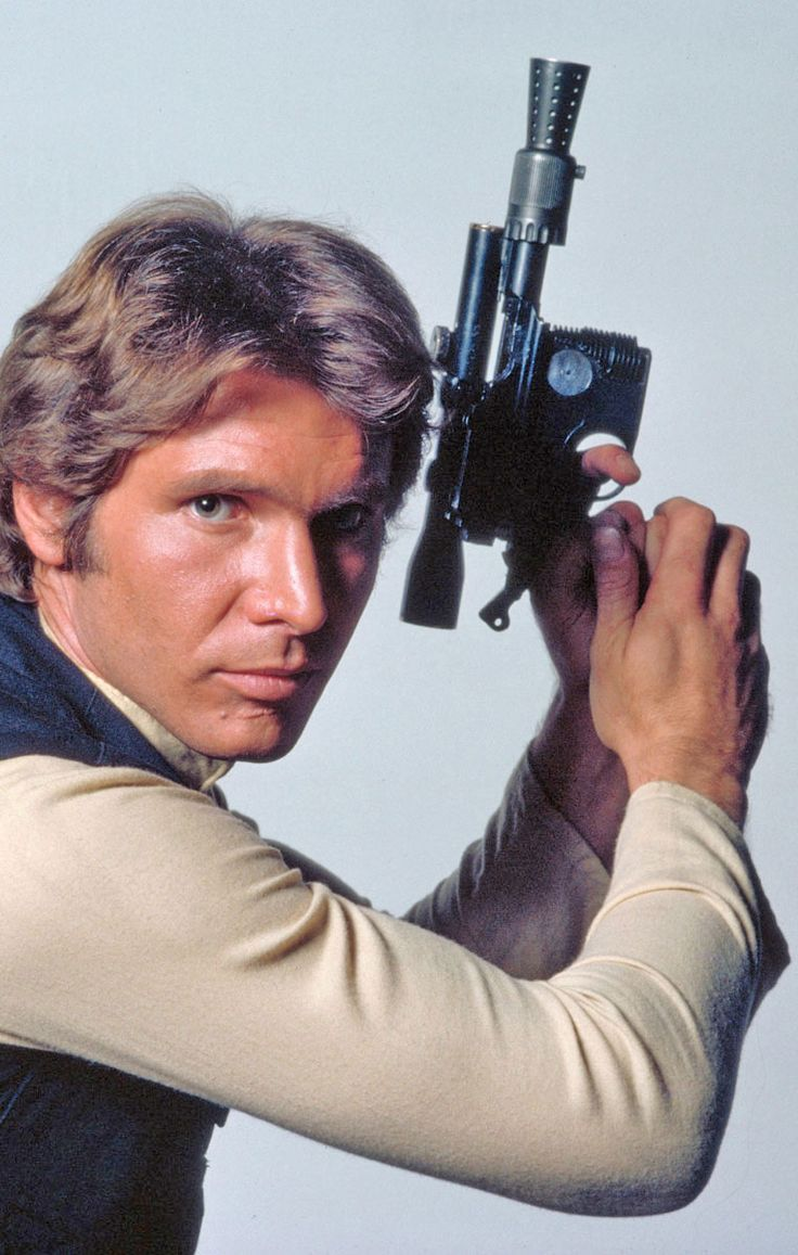 Harrison Ford as Han Solo in 'Star Wars' (1977)
