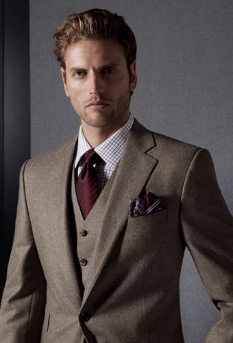 Have I mentioned how amazing Jack Victor (100 years old. Montreal-made suiting. Drool.) is today? No?Jack Victor is effing amazing. Check out their Fall 2012 collection.