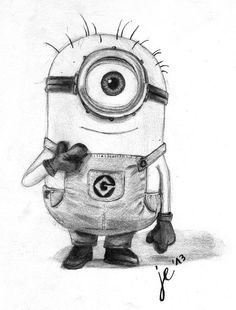 drawing minions - Pesquisa Google