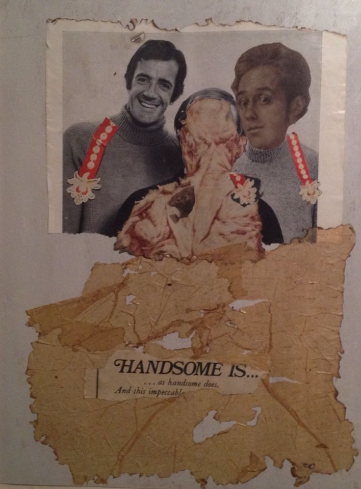 'Handsome' Collage by Marlene Tholen