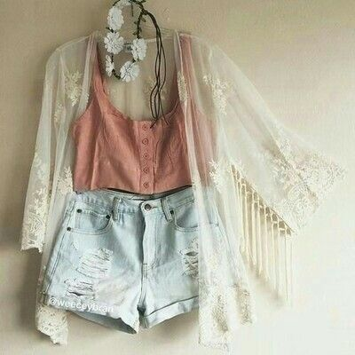 Music Festival Outfit • would like to have something like this hanging in my closet