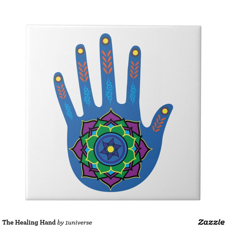 The Healing Hand Tile