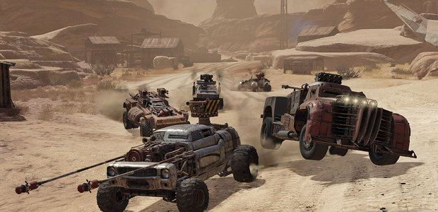 Ride eternal, shiny and chrome: Crossout hits open beta
