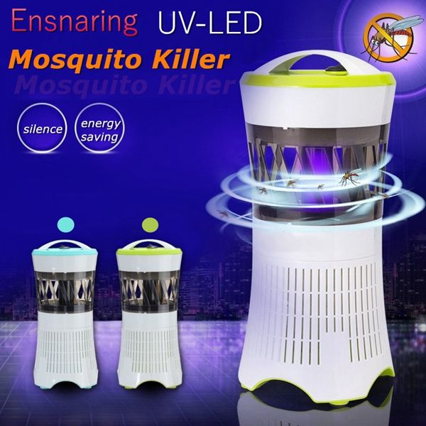 LED Flying Insect Killer Lamp Electric Zapper Bug Mosquito Fly Wasp Trap Pest Control - Newchic Mobile.