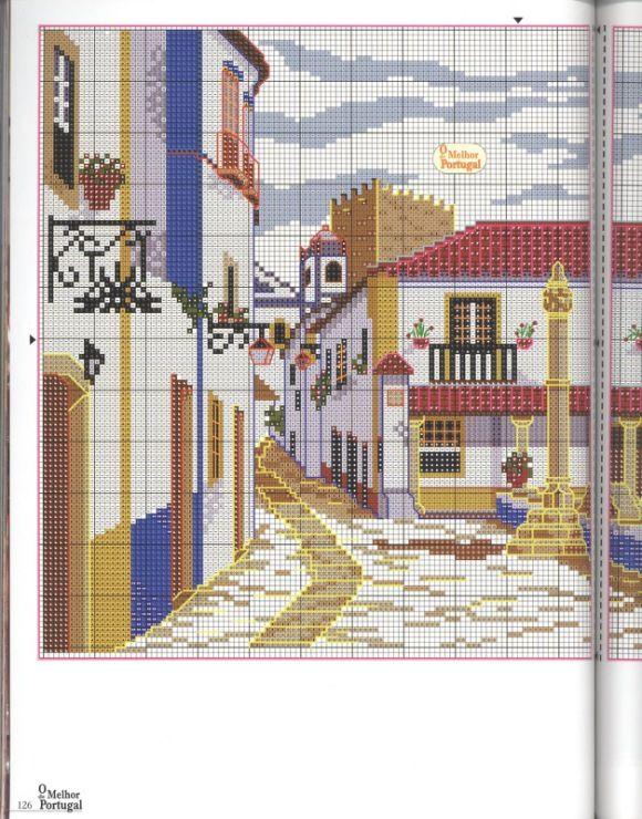 melhor de Portugal em ponto de cruz