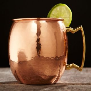 Hammered Copper Moscow Mule Mug, 16 oz, from HomeWetBar.com OH or this @Lindsey Rogers