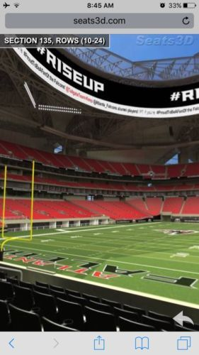 #tickets Atlanta Falcons Vs Jacksonville Jaguars 8-31-17 (2 Tickets, Lower Level) please retweet