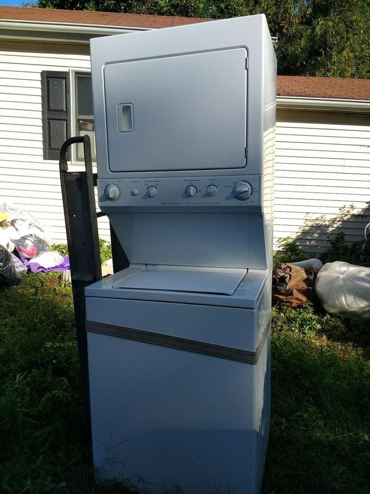 Frigidaire Gallery Top Load Stacked Washer / Dryer #Frigidaire