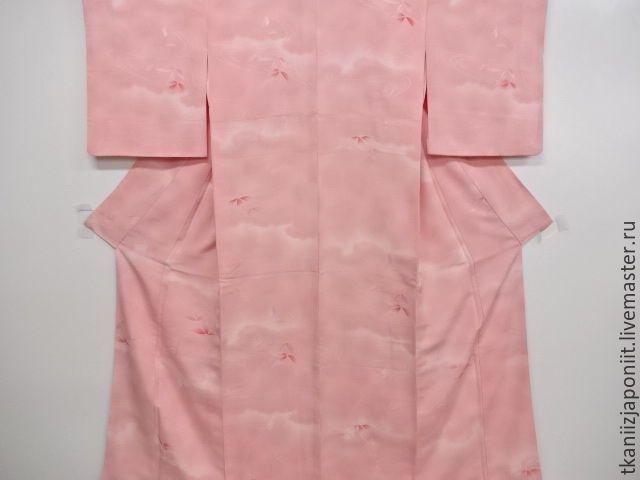 """Купить Японское кимоно """"Розовые мечты"""" - розово-вишневый, японское кимоно, японское кимоно купить"""