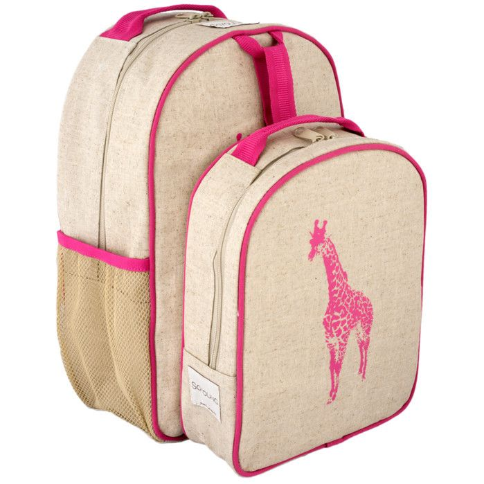 Designed to please not just the toddler but their parents too! Backpack is roomy enough for the things a preschooler needs – a pair of shoes, a change of clothes, and of course, something for Show and Tell!<ul><li>Wipeable, coated linen exterior (PVC free).</li><li>2 side bottle pockets.</li><li>Lined nylon interior with zippered mesh pocket.</li><li>Chest strap with clip.</li><li>PVC, Phthalate and BPA Fr...