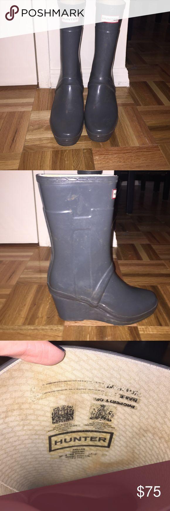 25+ best ideas about Grey Hunter Boots on Pinterest | Winter ...