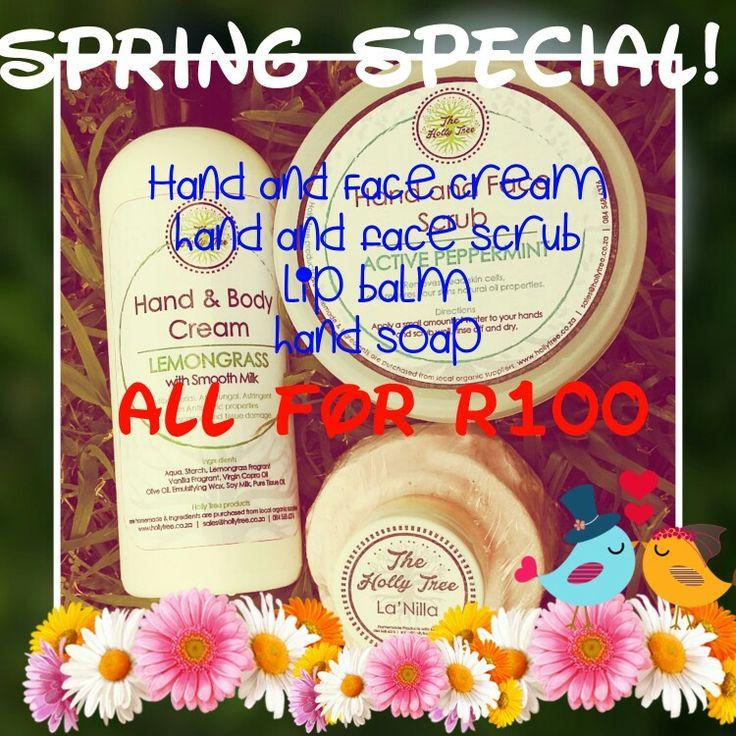 #spring #special #organic #skin #care #homemade #diy #sale