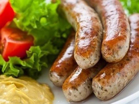 Domáca klobása - homemade sausages (Slovak Language)