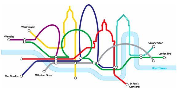 Alternate underground map