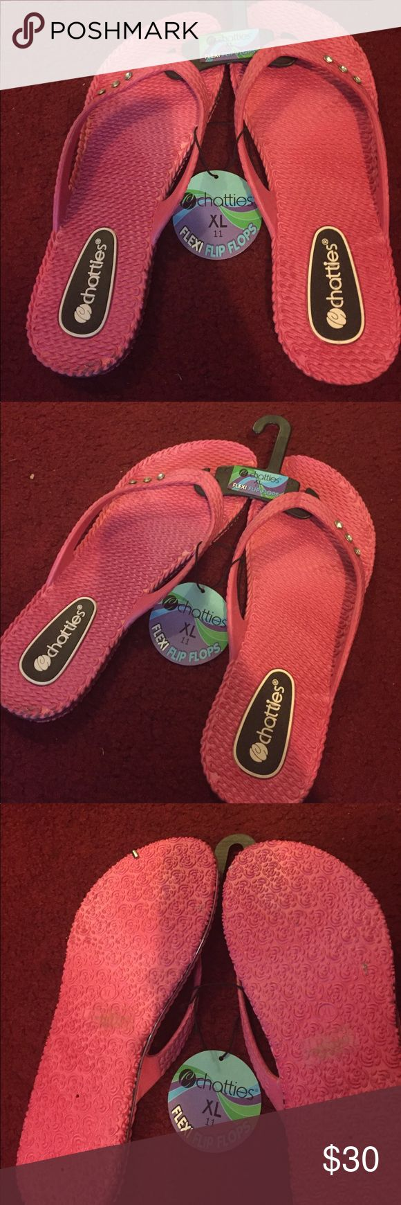 New flexi flip flops from chatties New flexi flip flops from chatties extra large size 11 Shoes Flats & Loafers