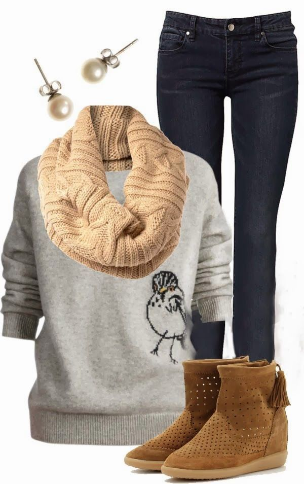 stunning cute comfy winter outfits 12