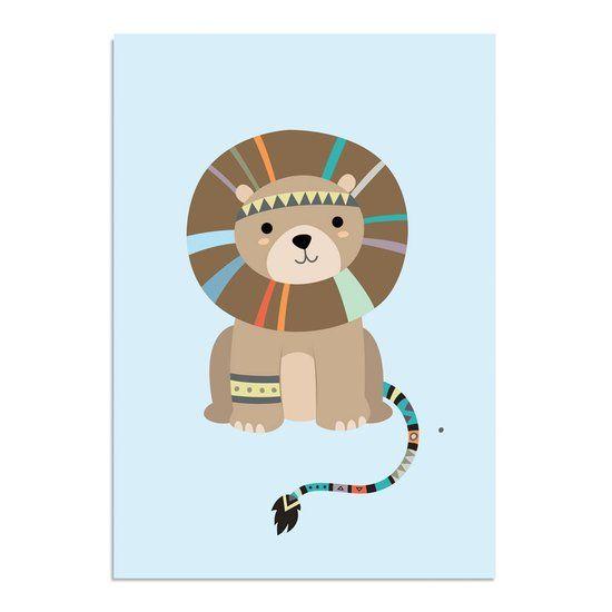 ... Babykamer - Indianen stijl - Tribal - Decoratie - A1 formaat