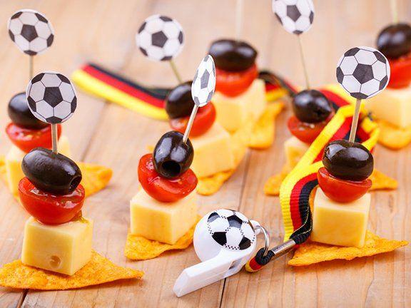 Snacks für die Fußball-EM