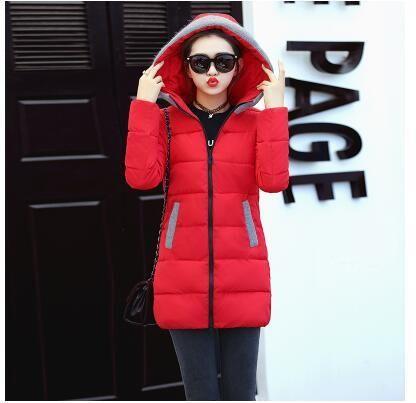 9f7c9dd20 2018 High Quality Ladies Winter Jacket Women Long Overcoat long ...
