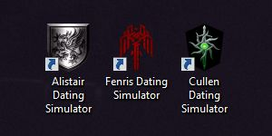 """celestialgoth: """" ah yes, the three installments of the dragon age series """""""
