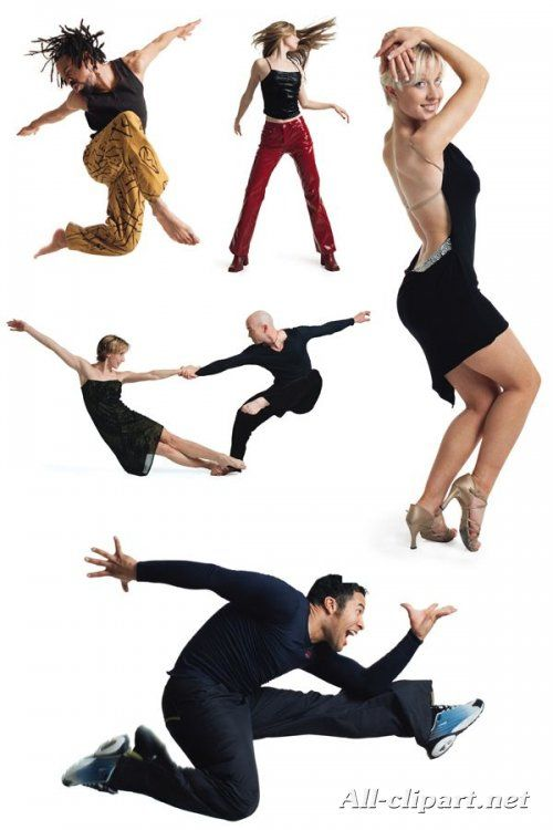 Танцующие и прыгающие люди (подборка фото)