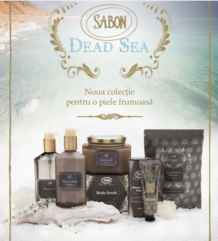 Pamper yourself at home with Sabon Dead Sea collection