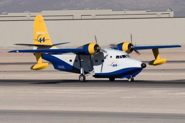 Grumman Albatross owned by Row 44