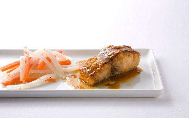 Fish w/ Ponzu Sauce: Seafood Recipes, Merriman Restaurant, Stewart Recipes, Fish Marinade, Sexual, Pickled Radish