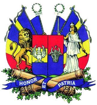 Principatele Române (Cuza) - Stemă folosită între 1859-1860 (mare).