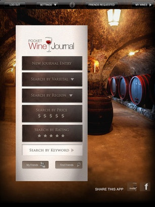 Pocket Wine Journal for iPad - App Info & Stats | iOSnoops