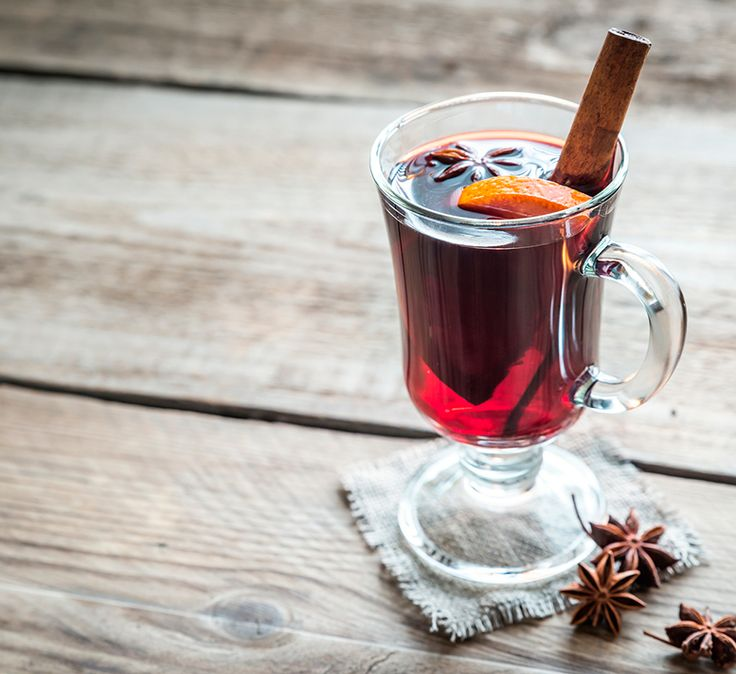This non-alcoholic mulled wine is just as delicious. Keep the spiced syrup in the cupboard for 2-3 months for whenever you need warming up during winter.