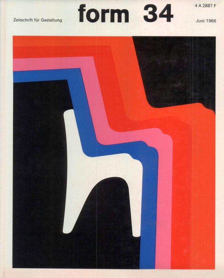 form N° 34. Jun 1966. Cover: Karl Oskar Blase. © Verlag form GmbH & Co. KG