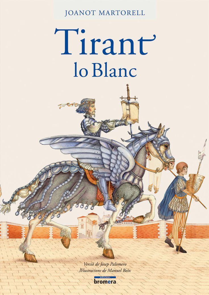 Tirant lo Blanc és una novel.la d´intrigues i aventures, conspiracions i batalles, però sobretot, narra la història d´amor que uneix el valerós cavaller Tirant amb la bella princesa Carmesina.