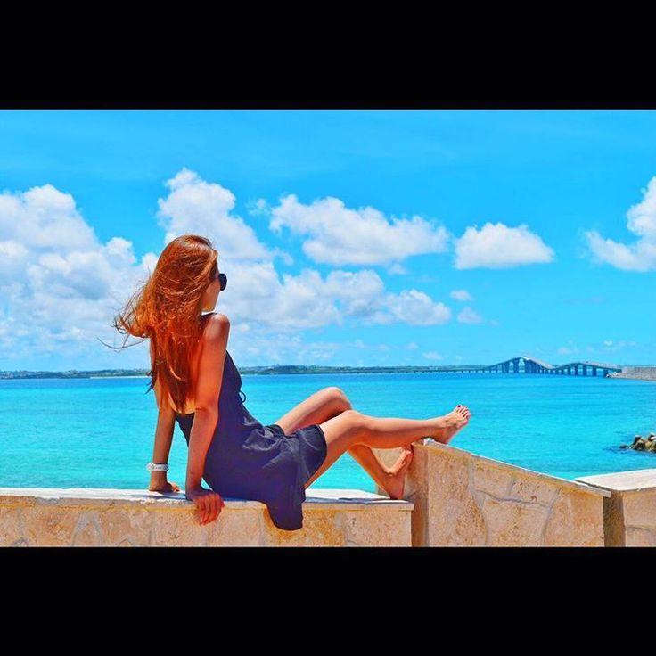 宮古島とっても楽しかった😋❤️ 那覇戻って今日はダイビング〜👍👍🐠✨ #miyakojima #miyakoisland #miyakoblue #island #okinawa #islandlife #irabujima #irabuisland #irabubridge #bridge #nice #awesome #amazing #sunny #blue #sky #sea #diving #伊良部大橋 #宮古島