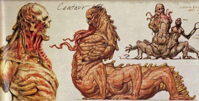 Fallout centaur concept art... 8(