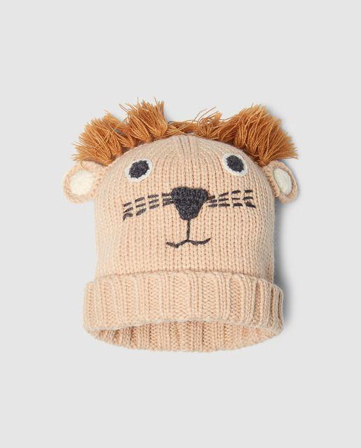 Gorro de niño Freestyle de león en marrón · Freestyle · Moda · El Corte  Inglés 8f7903cb435