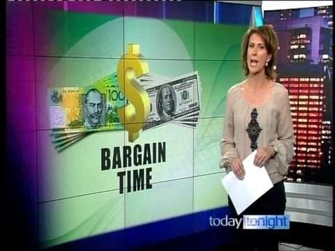 The Retail Doctor speaks with Today Tonight about the strength of the AUD and the bargains that can be found by shopping globally online. #retail #doctor