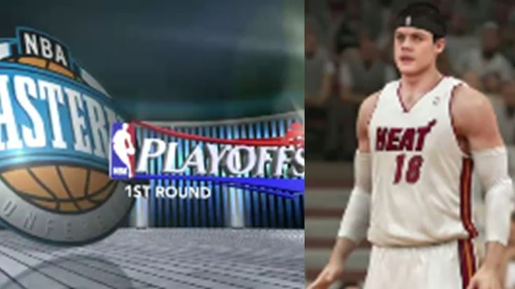 NBA 2K14 Next Gen My Career Playoffs QFG1 - Making team history in points!