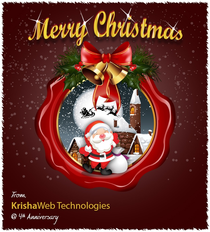 Merry Chrismas From KrishaWeb Technologies