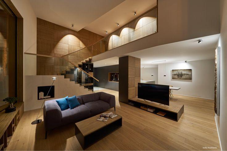 Il salotto è il luogo per eccellenza della casa dedicato al relax e ai momenti di condivisione. #Biohaus #livingroom #architettura #design #interiordesign