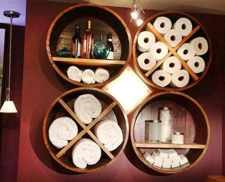 M s de 25 ideas fant sticas sobre peque os estantes del - Estantes para banos pequenos ...