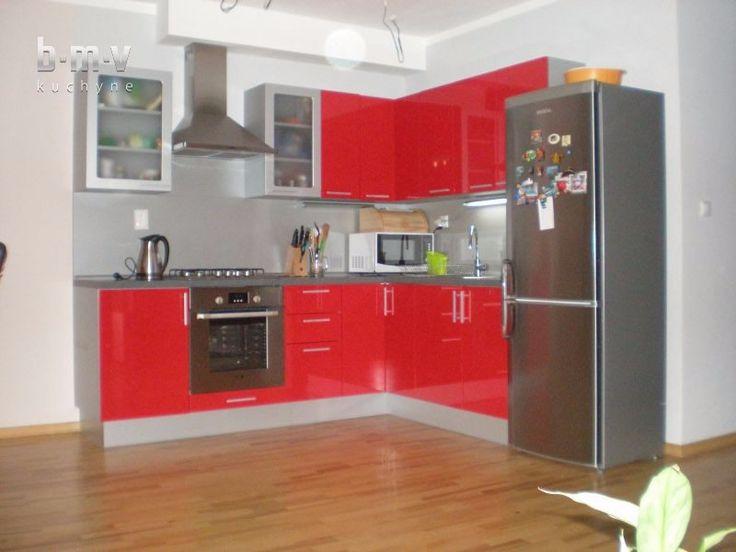 Červená kuchyňa - BMV Kuchyne