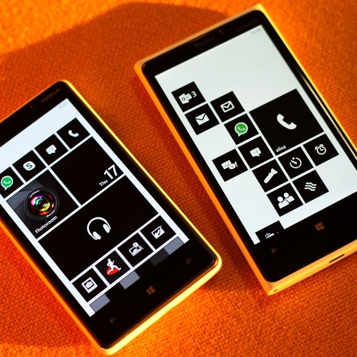 Устали от ярких цветов? Хотите черно-белый экран? Легко! Настройки —> Специальные возможности —> Высокая контрастность #Nokia #Lumia #820 #920
