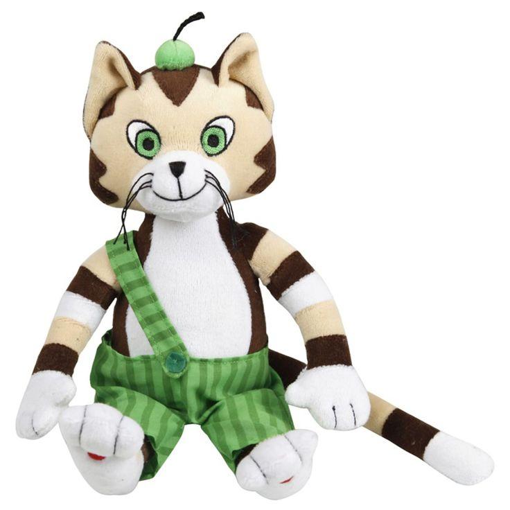 Pettson & Findus Mjukisdjur Findus 30cm är ett fint gosedjur i form av den busiga katten Findus. Findus är tillverkad i mjuk plysch och riktigt mysig att gosa med! Lek med Findus och hitta på en massa roliga saker tillsammans!<br><br>Mått: 30 cm.<br><br>Material: Plysch.