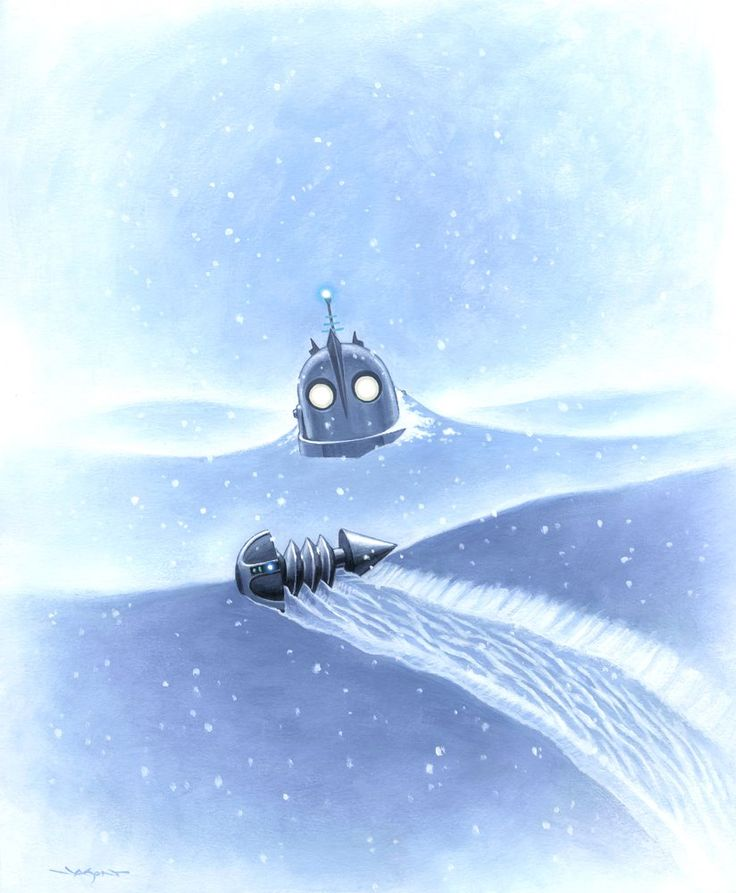 'Iron Giant: Winter' by Jason Edmiston