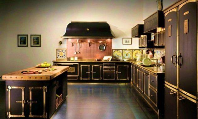 Cuisine Style Bistrot Chic Design Cuisine Bistrot Noire 19 Nantes Cuisine Bistrot Blanche 630 X 380 Pixels Gorgeous Kitchens Kitchen Retro Kitchen