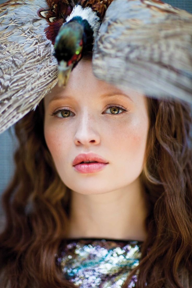 Actress: Emily Browning | Photographer: Simon Procter | Makeup: Penny Attwood | Stylist: Stevie Westgarth | Hair: Carlos Ferraz - for Bullet Magazine - Vol. V | Via: RU Glamour