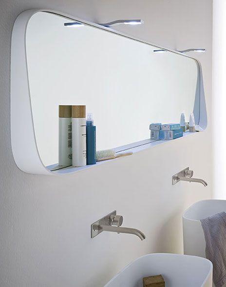 Wall Mirror Contemporary Shelf Bathroom 66916 7077915 464