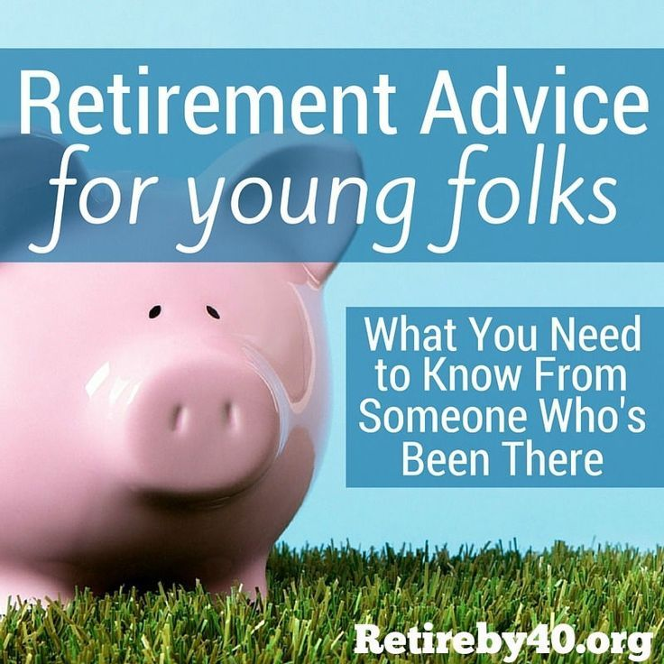 What would be your financial advice to people in their 20s? I suggested saving for retirement in the 401(k) account.