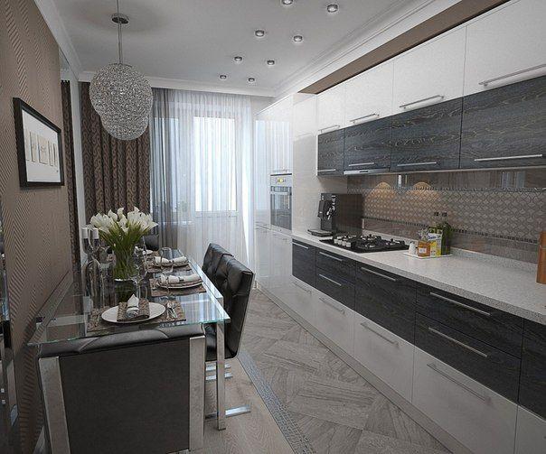 Inšpirácia modernej kuchyne